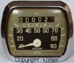 speedometer with only 2 km