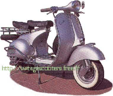 vespa acma 150 gl 1956